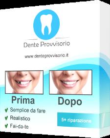 dente provvisorio prodotto