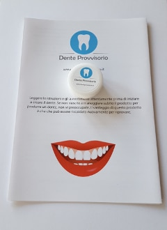 Dente provvisorio product